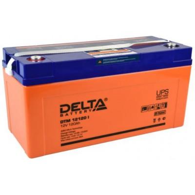 AGM аккумулятор Delta DTM 12120 I
